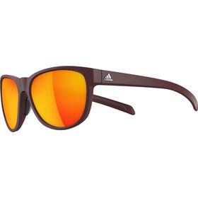 adidas Wildcharge - Lunettes cyclisme - marron/rouge